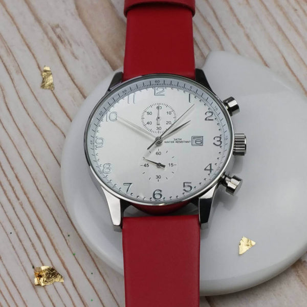 Colourful Personalised Chronograph Watch
