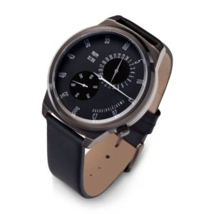 Graphite Finish Mens Watch with FREE Personalisation & Engraving.