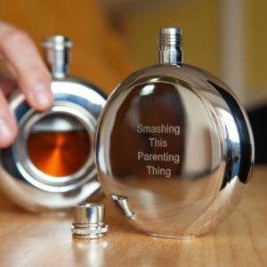 Personalised Hip Flask with Window & FREE EngravingPersonalised Hip Flask with Window & FREE Engraving