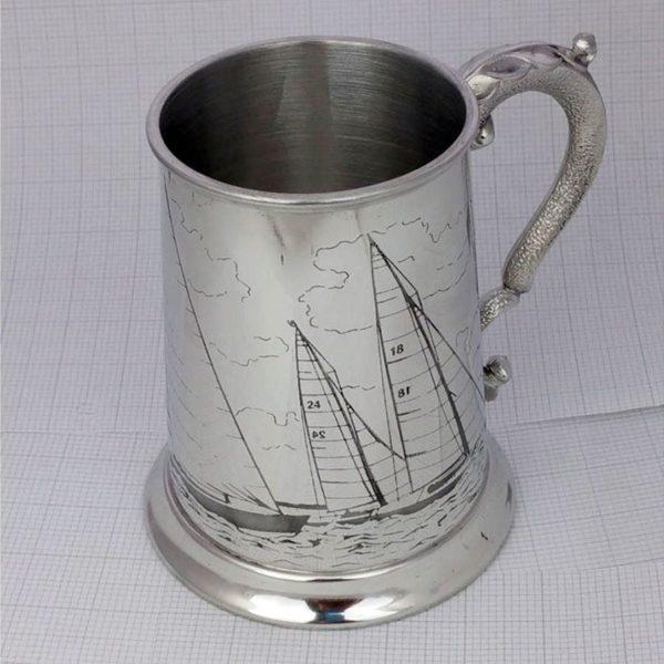 Sailing Tankard - Ideal Sailing Prize