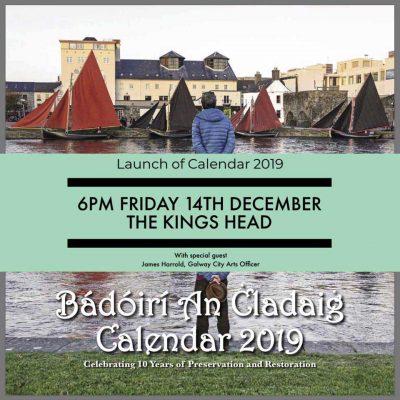 Bádóirí An Cladaig Calendar 2019 Launch