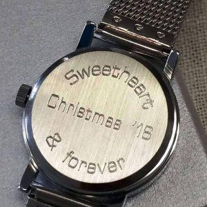 Elegant Ladies Watch with Free Engraving on ShopStreet.ie Personalised Watches