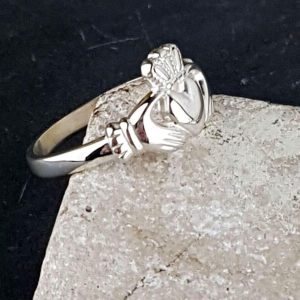 Ladies Claddagh Ring on ShopStreet.ie Galway Silver Claddagh Rings for Ladies. Claddagh Rings represent Friendship, Love & Loyalty.