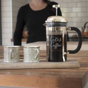 Personalised Cafetiere French Press Coffee Maker