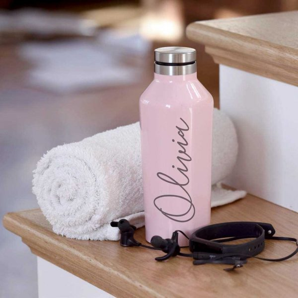 Personalised Corkcircle Drinks Bottle For Her - Engraved Water Bottle