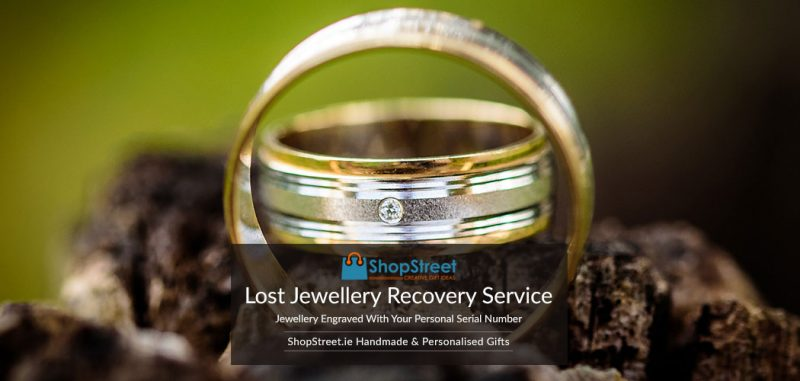 Lost Jewellery Recovery Service by Jewellery Reunited assists returning lost jewellery owners using security serial numbers applied to the jewellery, Ireland.