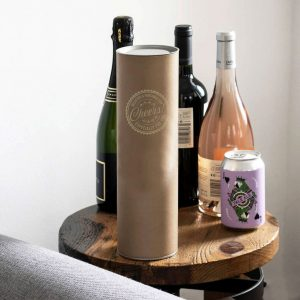 Personalised Champaign Presentation Tube