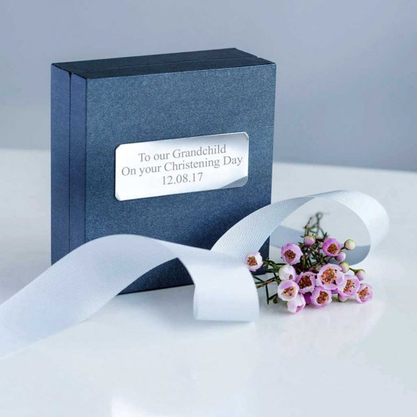 Grandchild Christening Personalised Gift Box