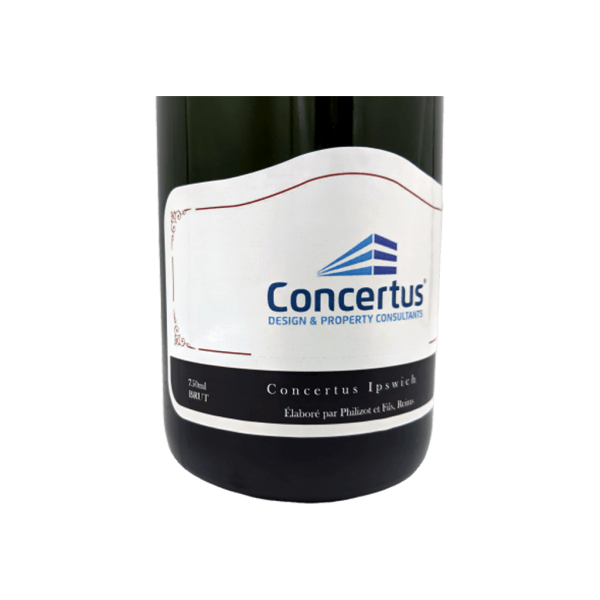 Corporate Logo Branded Artisan Champagne Ireland