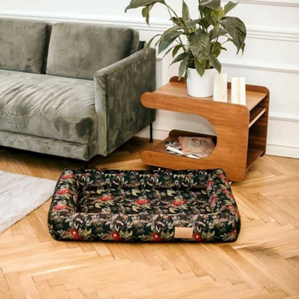 Large Dog Bed - Luxury Dog Bed in Velvet. Stylish Big Dog Bed available in 3 Dog Bed sizes.