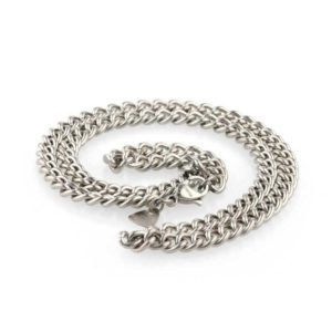 Men's Titanium Necklace - A Chunky, Lightweight & Super Strong Jewellery gift for him. Stunning made to order Mens Titanium Necklace.