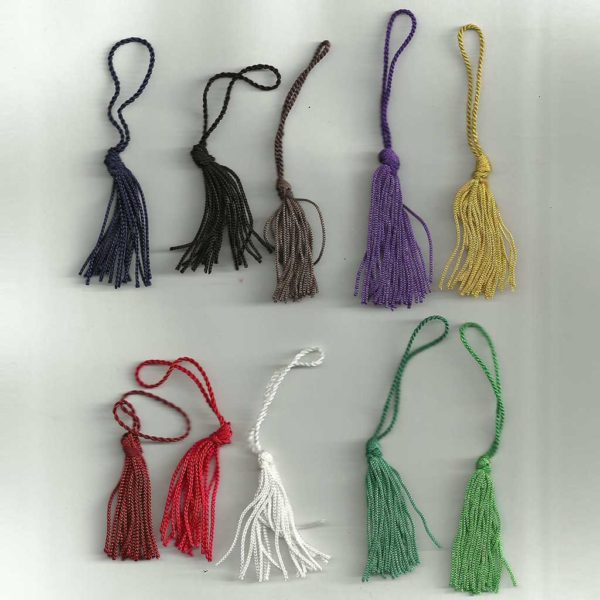 Silver Bookmark Tassels