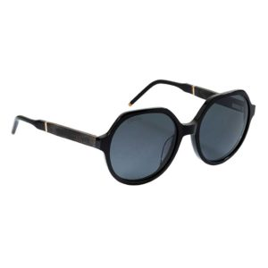Eco-Friendly Sunglasses Handmade In Recycled Ebony Wood & Black Acetate Frame with Cork Sunglasses Case & Cleaning Cloth. Irish & Ships From Ireland.