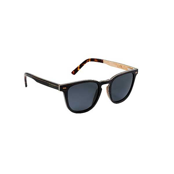 Irish Mens Black Sunglasses. Men's Irish Eco-Friendly Sunglasses Handmade In Black from Recycled Materials with Case & Cleaning Cloth. Shipped from Ireland.