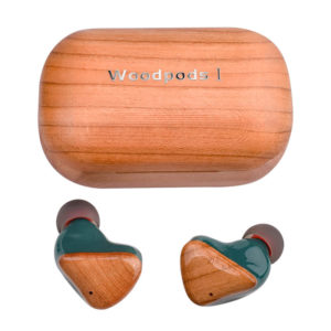 Bluetooth Wooden Earbud Earphones In FSC Cherry. TWS, 300 Hrs Standby, Wireless Bluetooth v5.0, Charge 1 Hr, 4+ Hrs Music Time at 15m. Ships From Ireland.