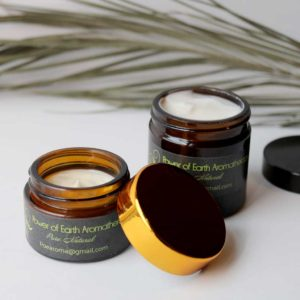 Irish Handmade Aromatherapy Set of Two Organic Face Creams and a Deep Tissue Massage Lotion Candle. 100% Pure Natural, Vegan and Cruelty-Free, Ireland.