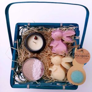 Aromatherapy Beauty Gift Set - Face Mask, Soap Bar, Candle & Lotion Candle Handmade In Ireland. Vegan Friendly & Cruelty Free, Beauty Gift Set Made in Ireland