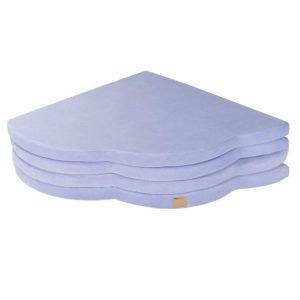 Baby Play Mat - Cloud Shaped Foam Play Mat In Light Blue for New Born, Babies, Toddlers, Kids, Children, Bed Room & Nursery. Soft & Child Safe. 160 x 160 x 5cm. On ShopStreet.ie
