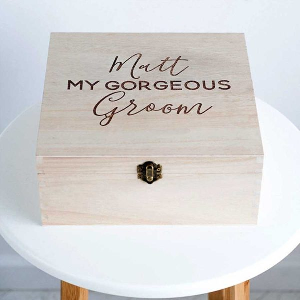 Engravable Wooden Box Font Examples - ShopStreet.ie Handmade & Personalised Gifts