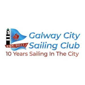 Galway City sailing Club Logo with Gradient