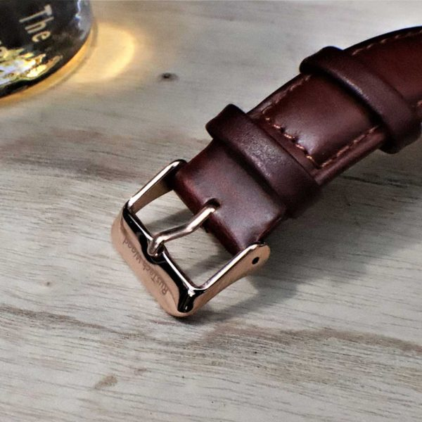 """Handmade Irish Whiskey Cask Wood Watch with Free Personalised Engraving. """"The Cooper"""" is Handcrafted in Galway, Ireland from Irish Distillery Cask Oak Barrels."""