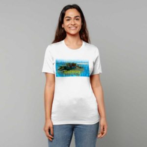 Galway T Shirt - Ice Cream Kiosk, Salthill Prom, Galway, Ireland. Celebrate Ice Cream on the Salthill Prom with this Exclusive T-Shirt Design.