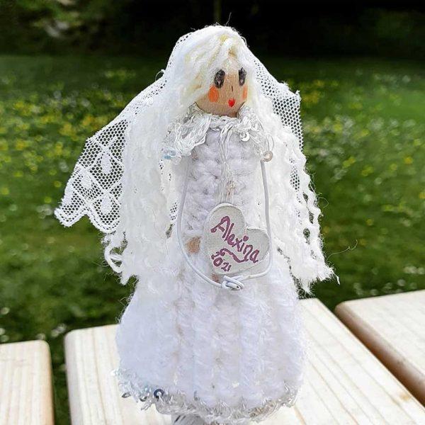 "Holy Communion Fairy. Design Your Handmade Holy Communion Fairy. Handmade & Gift Wrapped with love in the ""Donegal Fairies"" Fairy Workshop, Ireland"