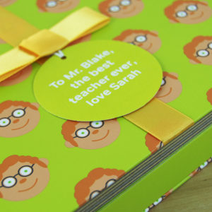 Male School Teacher Gift Book with Socks & Personalised Gift Tag & Card. Fun Story Book, Socks & Personalised Tag for Last Day Of School, Goodbye, Christmas.. on ShopStreet.ie Handmade & Personalised Gifts, Ireland