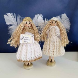 Christening Gift Personalised Fairy. Design Your Handmade Christening Fairy. Handmade & Gift Wrapped with love in the