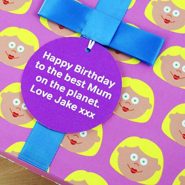 Birthday gift book for Mum with Socks Gift & Personalised Gift Tag. Mother & Child Storytime Book, Socks Gift & Personalised Gift Tag for Birthday, Mothers Day, Christmas...