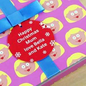 Christmas gift book for Mum with Socks Gift & Personalised Gift Tag. Mother & Child Storytime Book, Socks Gift & Personalised Gift Tag for Birthday, Mothers Day, Christmas...