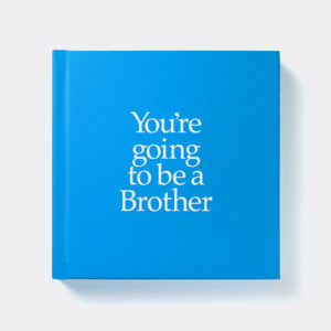 Brother Gift Book & Socks - Perfect Gift for Brother tell him he is going to have a sibling, with matching socks present for him & Baby, from Ireland. On ShopStreet.ie - Handmade & Personalised Gifts, Ireland.