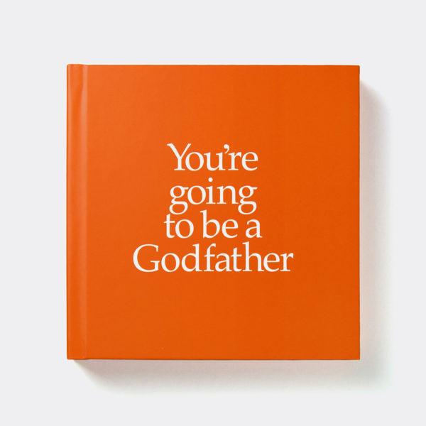 Godfather Gift Book & Socks - Perfect Godfather gift to tell him he is going to be a Godparent, with matching socks present for God Father & Baby, from Ireland. On ShopStreet.ie - Handmade & Personalised Gifts, Ireland.