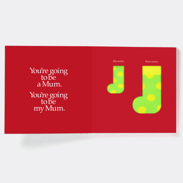 New Mother & Baby Gift Book & Socks - Perfect New Mum gift to prepare her for motherhood, with socks gift for Mother, Baby & optional personalised gift card. On ShopStreet.ie - Handmade & Personalised Gifts, Ireland