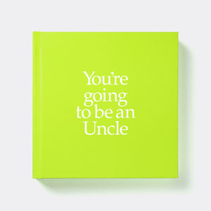 Gift for Uncle Book & Socks - Perfect New Uncle Gift & Personalised Card with socks for Uncle, Baby, Niece or Nephew. A present shipped from Ireland. On ShopStreet.ie - Handmade & Personalised Gifts, Ireland.